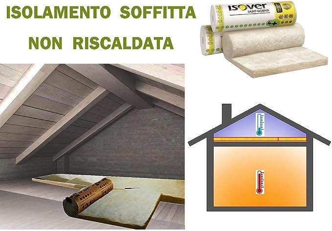 Lana mineral para aislamiento térmico de desván, techo, ático, etc., 15,60 m²: Amazon.es: Bricolaje y herramientas