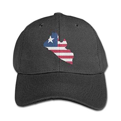 Elephant AN Flag Map Of Liberia Pure Color Baseball Cap Cotton Adjustable Kid Boys Girls Hat