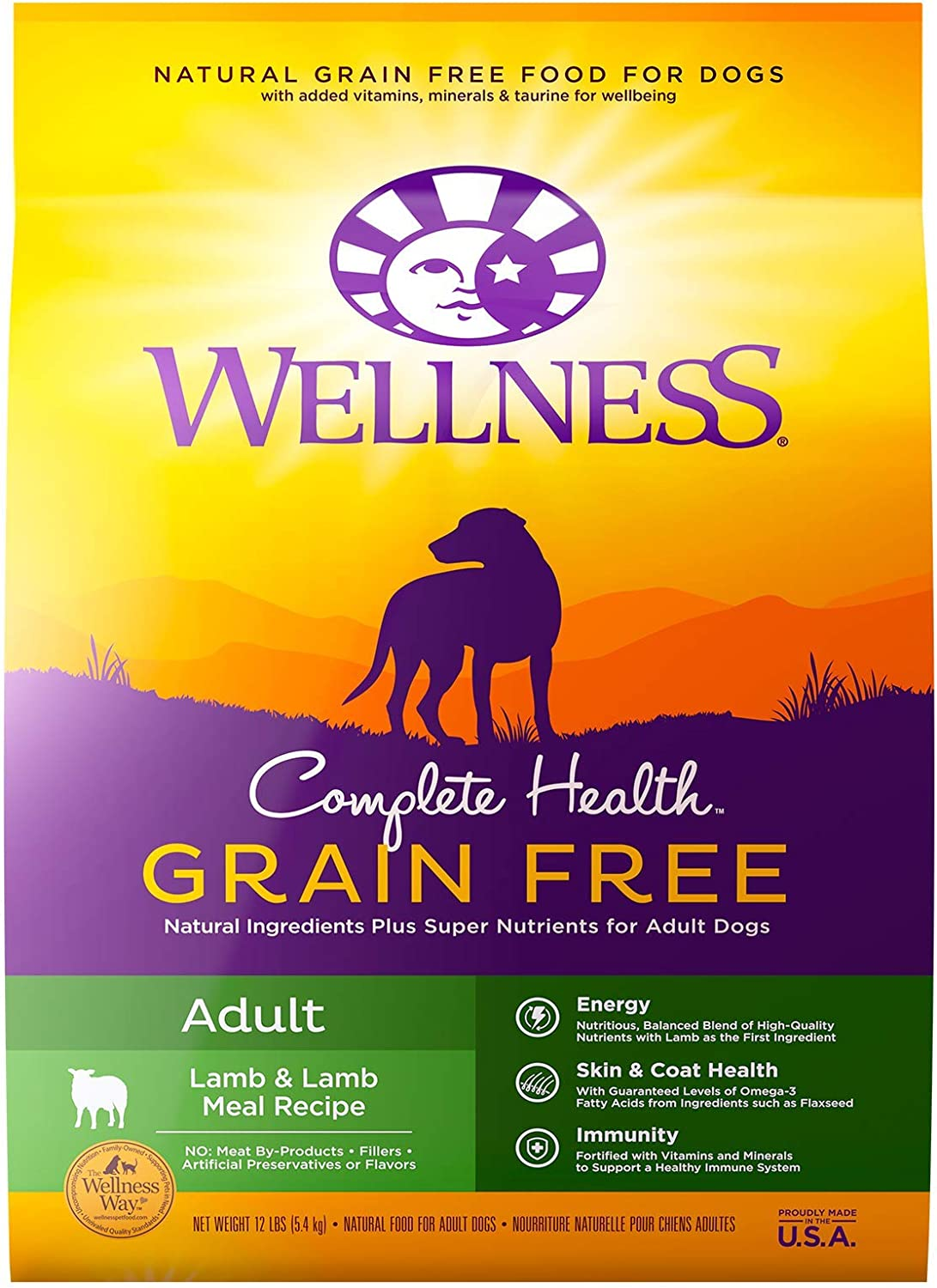 2. Wellness Grain-Free Complete Health Adult