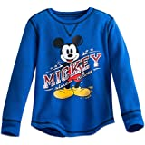Disney Mickey Mouse Classic Thermal Tee for Boys Blue