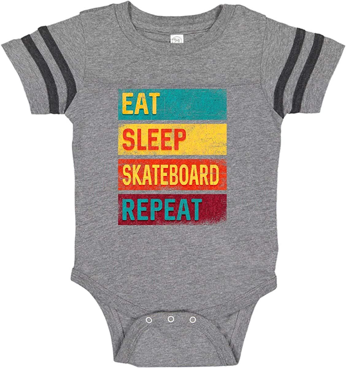inktastic Future Skateboarder Long Sleeve Creeper