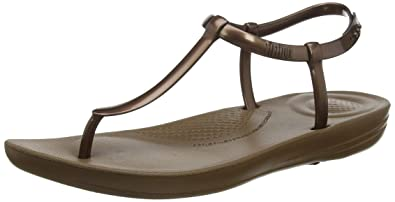 d87955609 Fitflop Women s s Iqushion Metallic Splash - Pearlised Flip Flops ...