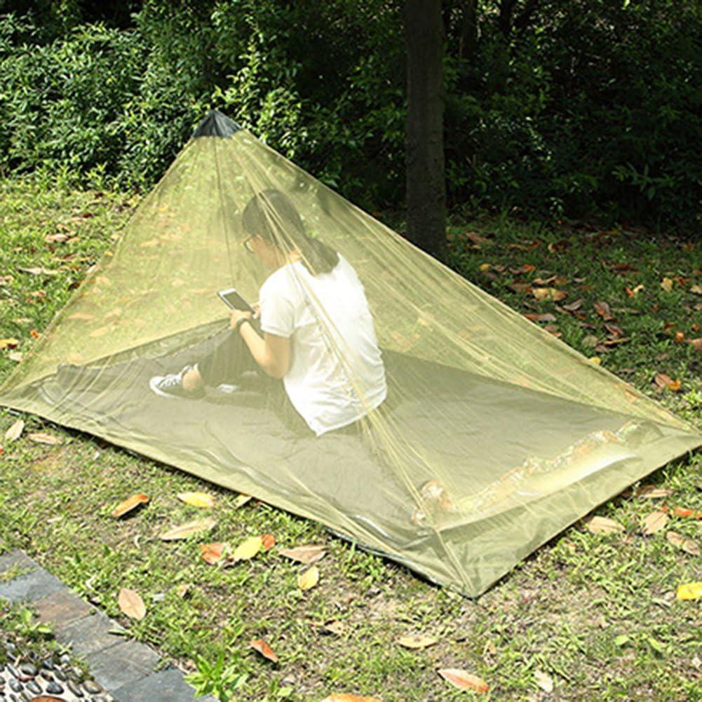 Herramienta de Cama Tienda Liviana para Exteriores 0Miaxudh Mosquitera para Exteriores para Acampar toldo con mosquitera para Insectos