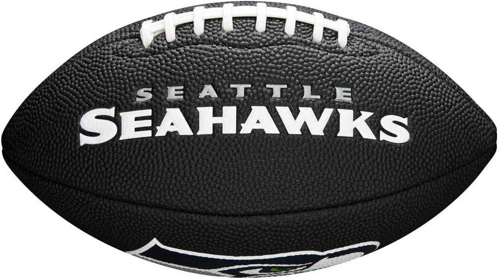 Wilson WTF1533BLXBSE Pelota de fútbol Americano Mini NFL Team Soft ...