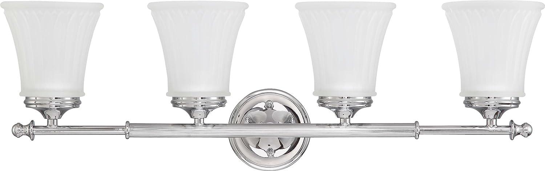 Nuvo 照明 ワンライトテラーバニティ フロストエッチングガラス 60/4013 1 B003Z6PHWM Aged ピューター|3ライト バニティー Aged ピューター