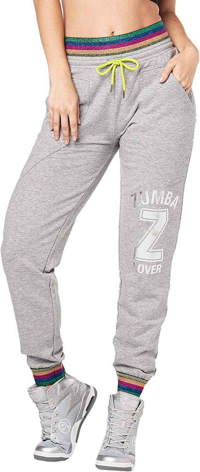 Zumba Breathable Activewear Dance Sweatpants Loose Fit Workout Pants for Women