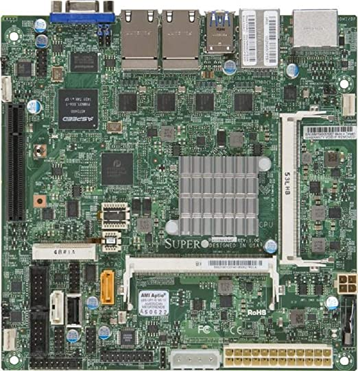 Server Mainboard Supermicro 1xsoc Mini Itx Computer Zubehör