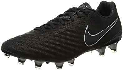 NIKE MEN'S MAGISTA OPUS II TECH CRAFT 2.0 (LEATHER) FG CLEATS (BLACK/