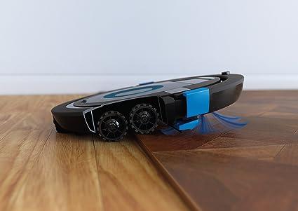 Philips Robot aspirador FC8774/01 - Aspiradoras robotizadas (Sin bolsa, Azul, Alrededor, 0,3 L, 58 dB, 1,8 cm): Amazon.es: Hogar