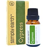 Cypress Essential Oil by Simply Earth - 15 ml, 100% Pure Therapeutic Grade