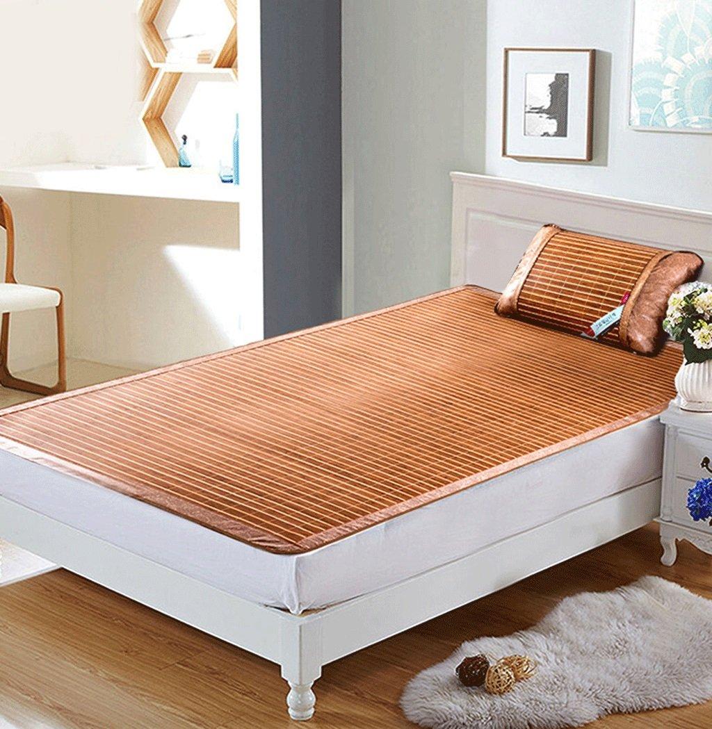 Bambus-Schlafmatten Einzel-und Doppel-Seiten der Matte kann gefaltet werden Studenten Bambus-Matte (Multi-Größe optional)