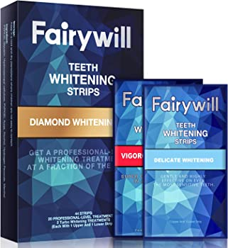 100-Pack Fairywill Teeth Whitening Sensitive Teeth Strips