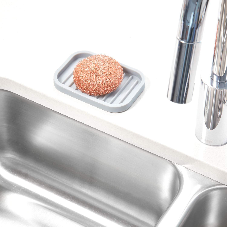 Red Interdesign Lineo Silcone Kitchen Sink Divider Protector Mat Home Kitchen Storage Organization Urbytus Com