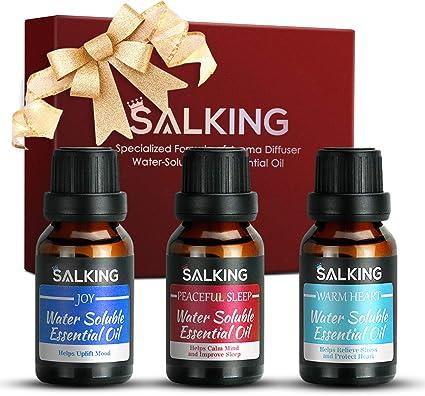 Aceites esenciales: mezcla de aceites esenciales para difusor y cuidado del cabello, 100 % natural terapéutico, aceite de fragancia de Navidad para ella 3 x 15 ml: Amazon.es: Salud y cuidado personal