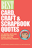 Best Card, Craft & Scrapbook Quotes