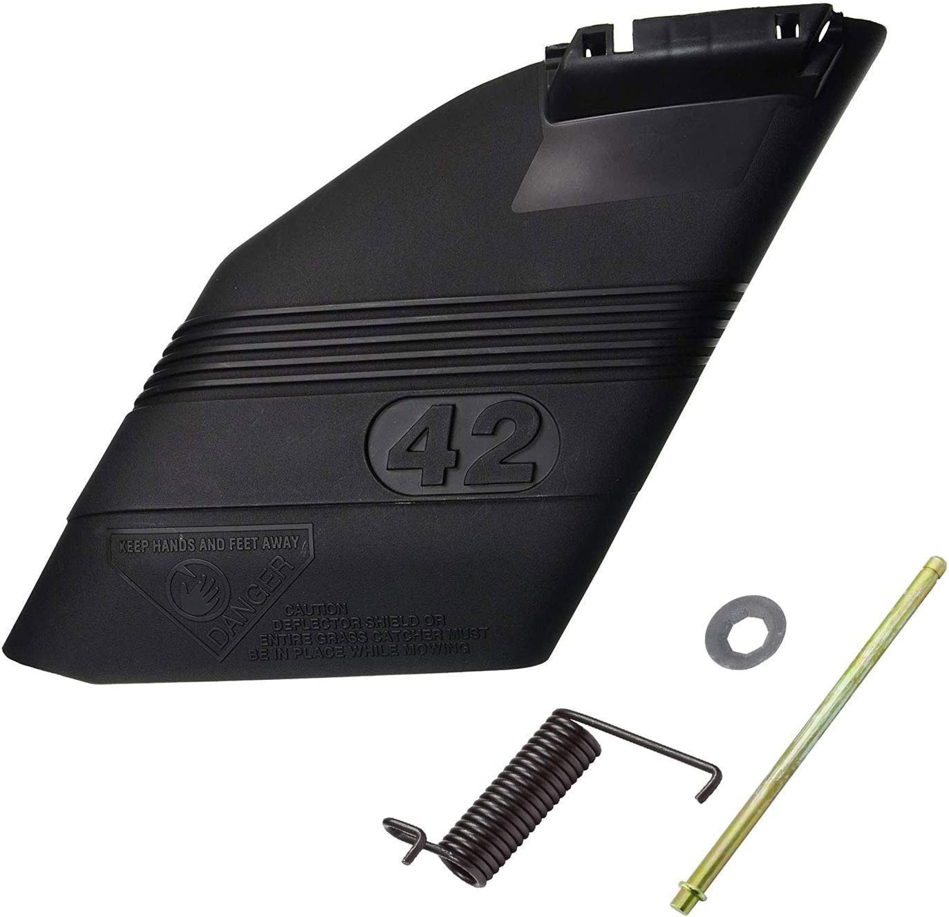 Deflector Shield for 130968X428 Craftsman Riding Mower Chute 42 Inch New