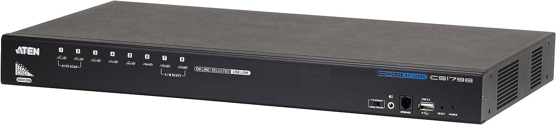 Aten Cs1798 Hdmi Kvm Switch Mit 8 Port Usb Computer Zubehör