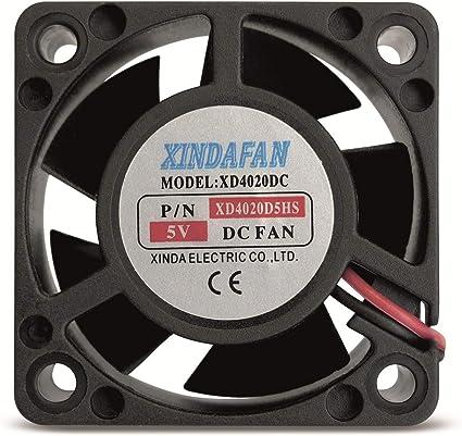 Ventilador en 5 V/DC 40 x 20 mm: Amazon.es: Informática