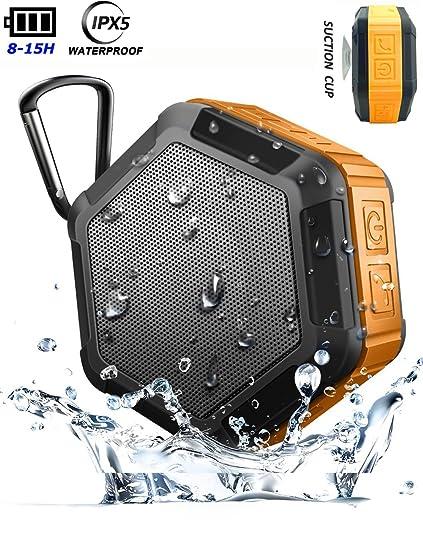 Portable Bluetooth Waterproof Music Speaker Wireless Outdoor Shower Mini Suction