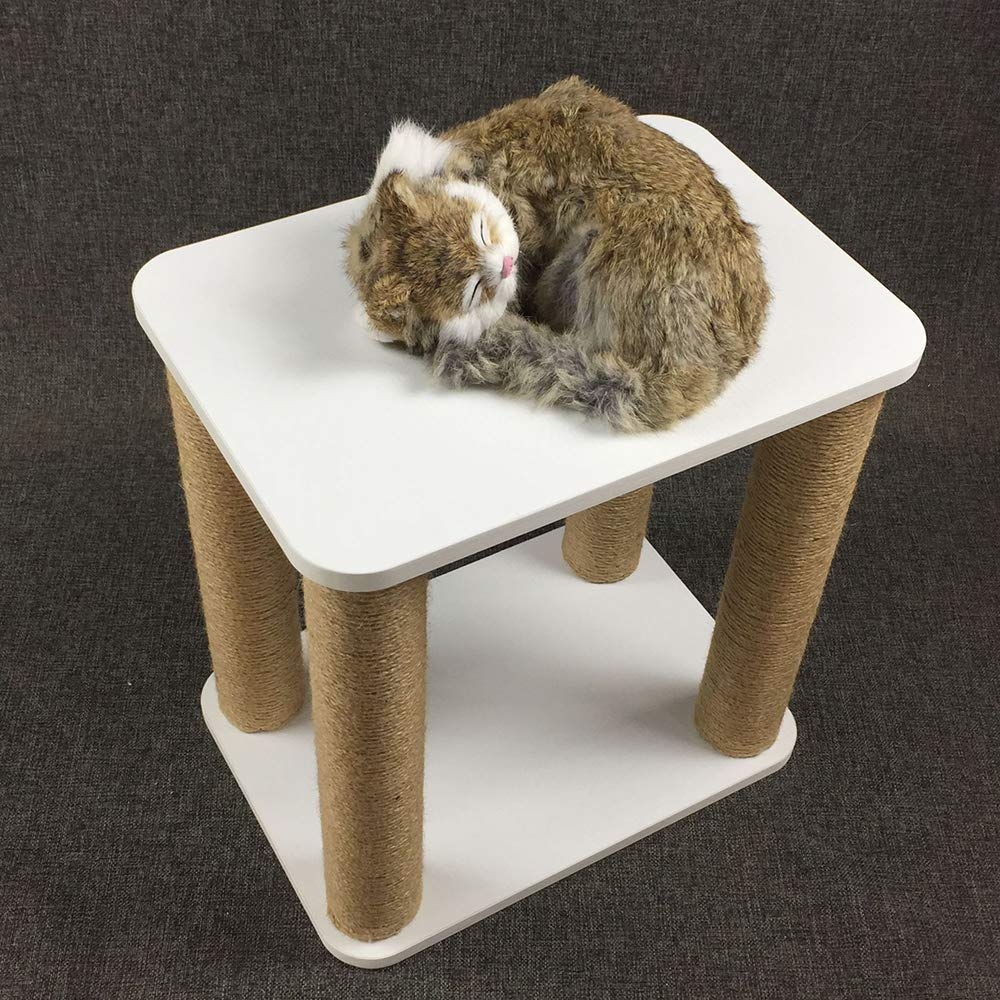 QNMM 2 In 1 Cat Climbing Frame Cat Home Removable Dog House Stool Changing shoes Stool Solid And Durable,Suitable For Pet Cats To Rest