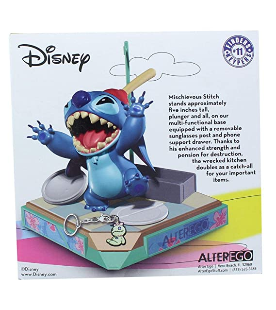 Amazon.com: AlterEgo Disneys Stitch - Llavero compacto con ...