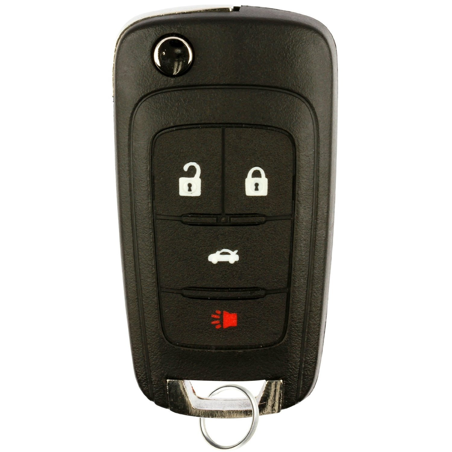 Replacement Keyless Remote Fob Key Shell Case For Buick Encore LaCrosse Regal Verano Chevrolet Camaro Cruze Equinox Malibu SS Sonic GMC Terrain OHT01060512 ASD