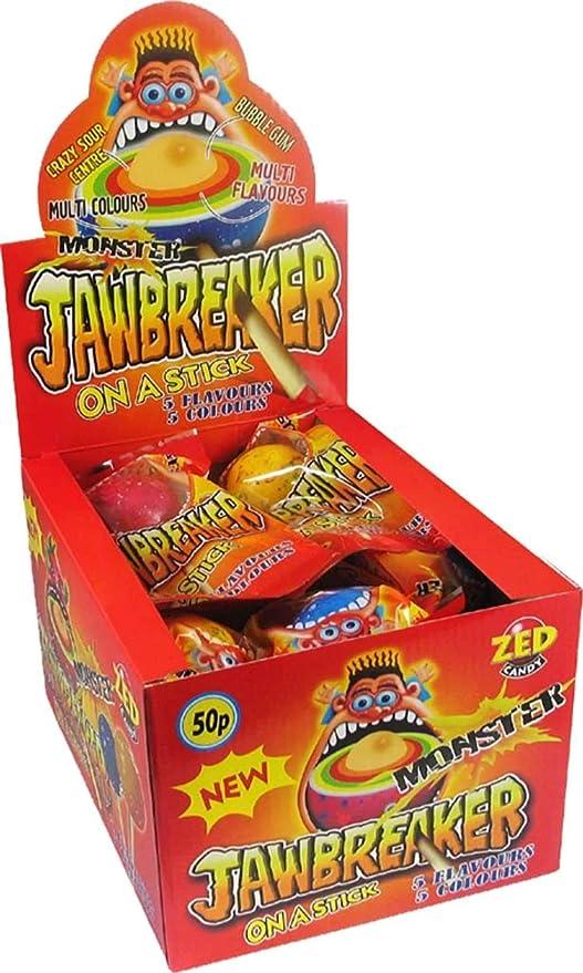 Monster Jawbreaker Lollipops