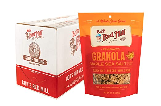 Bobs Red Mill Pan-Baked Granola: Amazon.com: Grocery ...