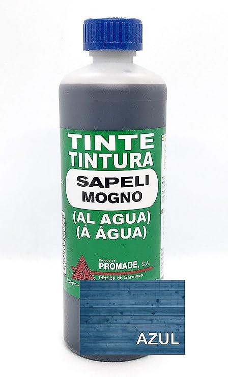 Promade - Tinte al agua para madera 500 ml (Azul)