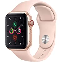 $484 » Apple Watch Series 5 (GPS + Cellular, 40mm) - Gold Aluminum Case with Pink Sport Band