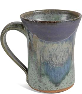 product image for Dock 6 Pottery Mug, Green/Purple