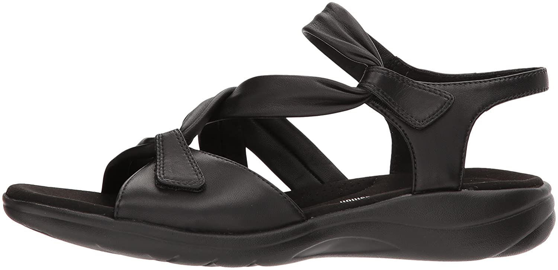 a45aebdb02c ... Clarks Women s Saylie Moon Sandals B0742P9C7J 10 Wide US