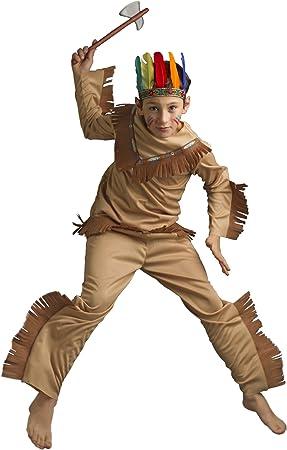 Caritan 59730 - Disfraz de indio para niño (8 años): Amazon.es ...
