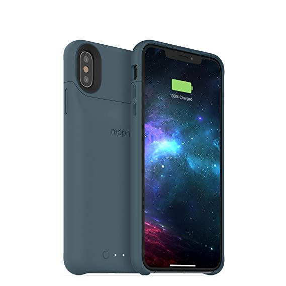 new product 9fe4a 0beef mophie Juice Pack Access - Ultra-Slim Wireless Battery Case - Made for  Apple iPhone Xs Max (2,200mAh) - Stone