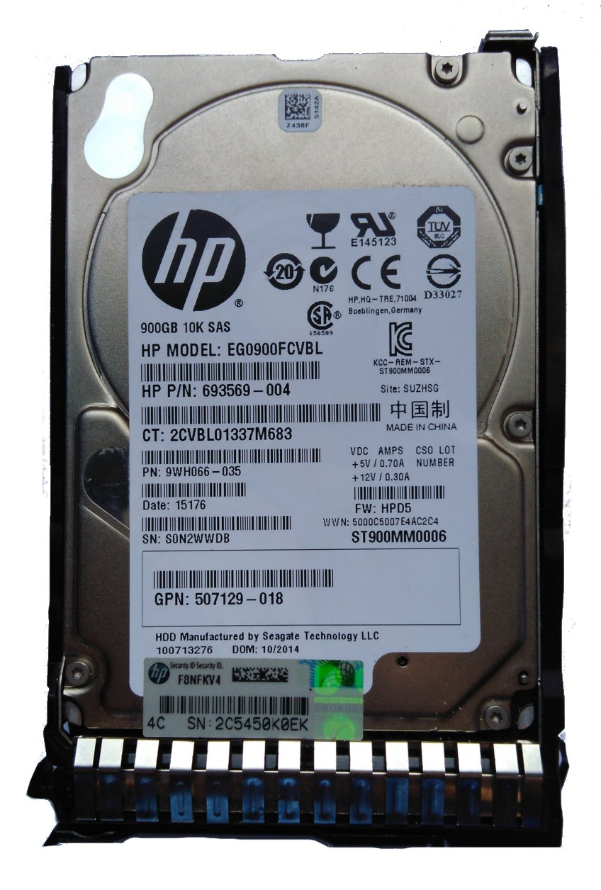 HP (ST900MM0006) 900GB Server Internal Hard..