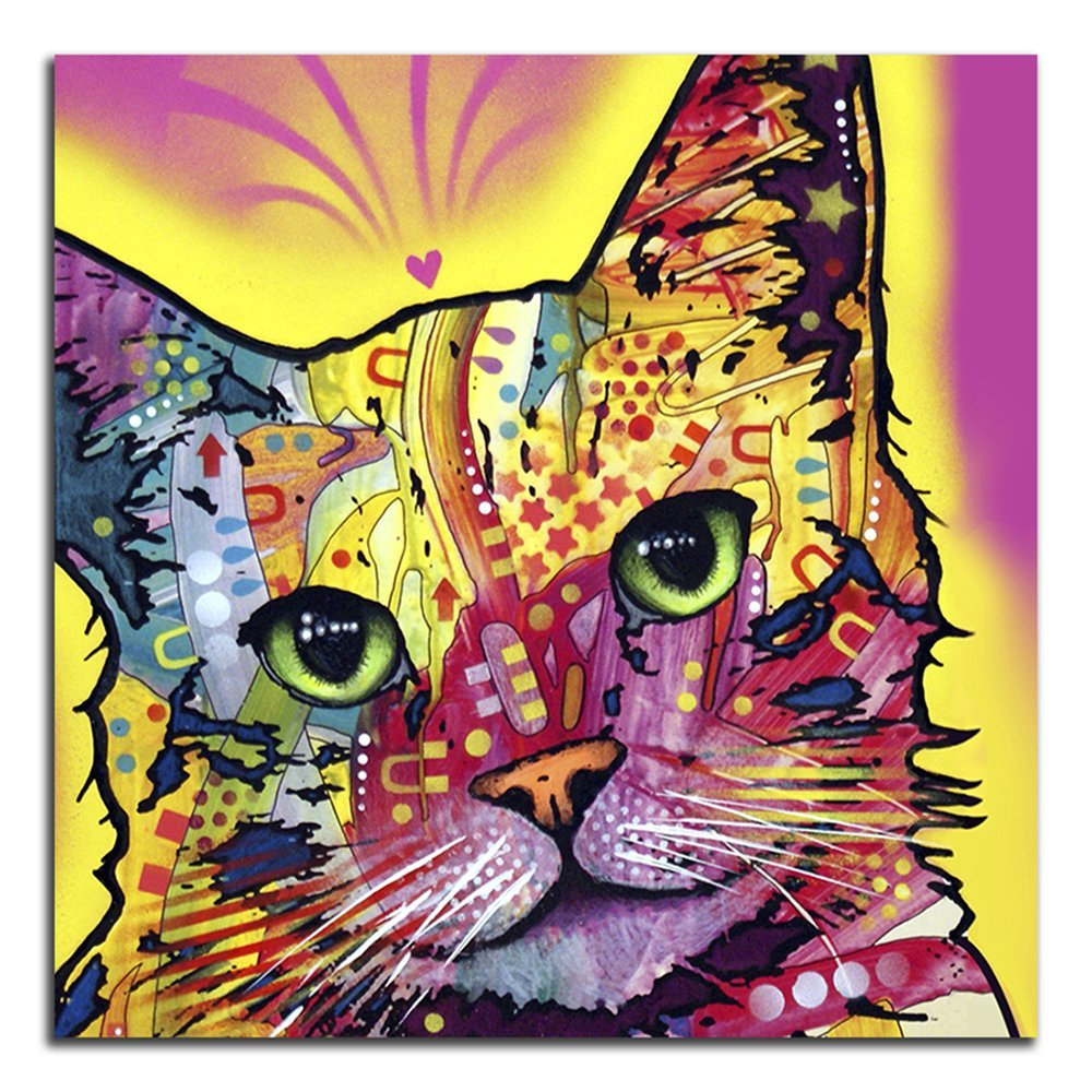 Pretty Cat Metal Wall Art Pictures Inspiration - The Wall Art ...