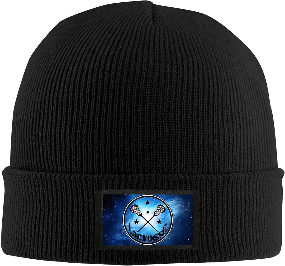 Lacrosse Winter Beanie Hat Knit Hat Cap for Men /& Women