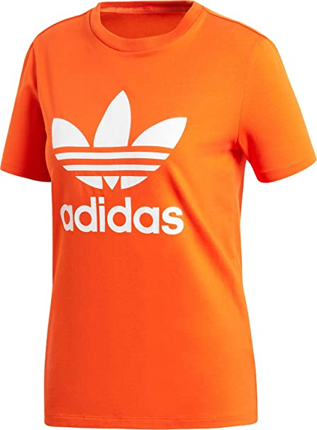 adidas shirt damen orange