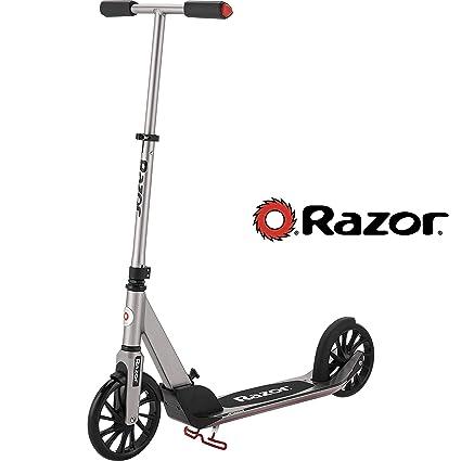 Razor 13013215 A5 Prime Scooter, Color Gris Oscuro: Amazon ...