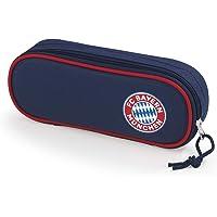 FC Bayern München Piórnik | pojedynczy piórnik dla chłopców i dziewczynek | artykuł dla fanów FCB dla fanów szkolnych…