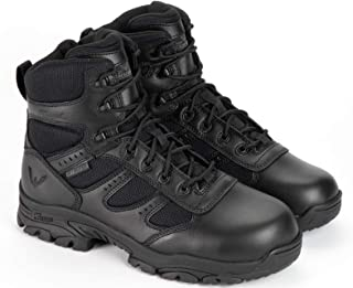 product image for Thorogood Men's Deuce Series 6'' Waterproof Tactical Side-Zip Composite Safety Toe Shoe
