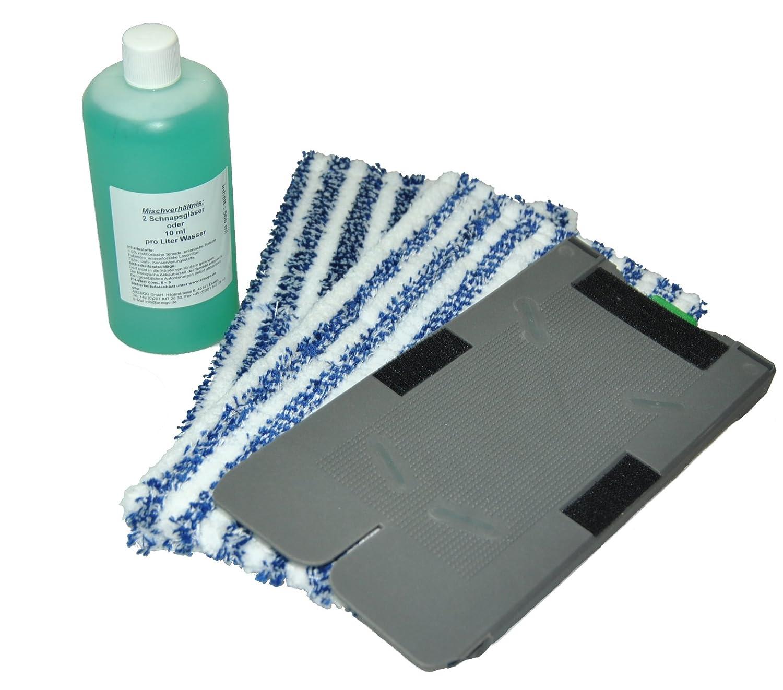 Ricambio placca 2Panni di pulizia + panno di pulizia + Universale in microfibra Concentrato adatto per i vostri VORWERK FOLLETTO SP520e 530aspirazione tergicristallo nassrein iger FSProdukte