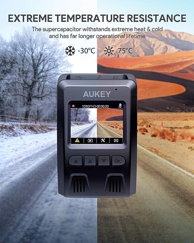 AUKEY Dash Cam FHD 1080p 1