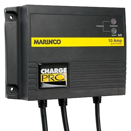 Amazon.com: Marinco 10 A bordo Cargador de batería 12/24 V 2 ...