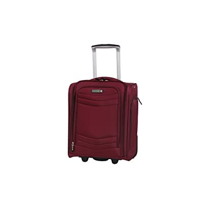 "it luggage Intrepid 16.9"" 2 Wheel Carry-On, Dark Red new"