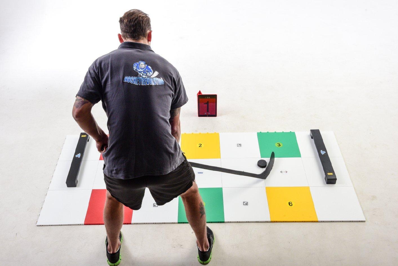 Hockey Revolution Professional Training Flooring Tile - MY PUZZLE SYSTEMS