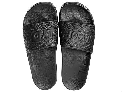 b9a759dfed42 Slydes Cali Black Men s Slider Sandals  Amazon.co.uk  Shoes   Bags