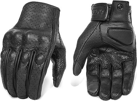 Yellow Sponge antiskid motorcycle handlebar gloves