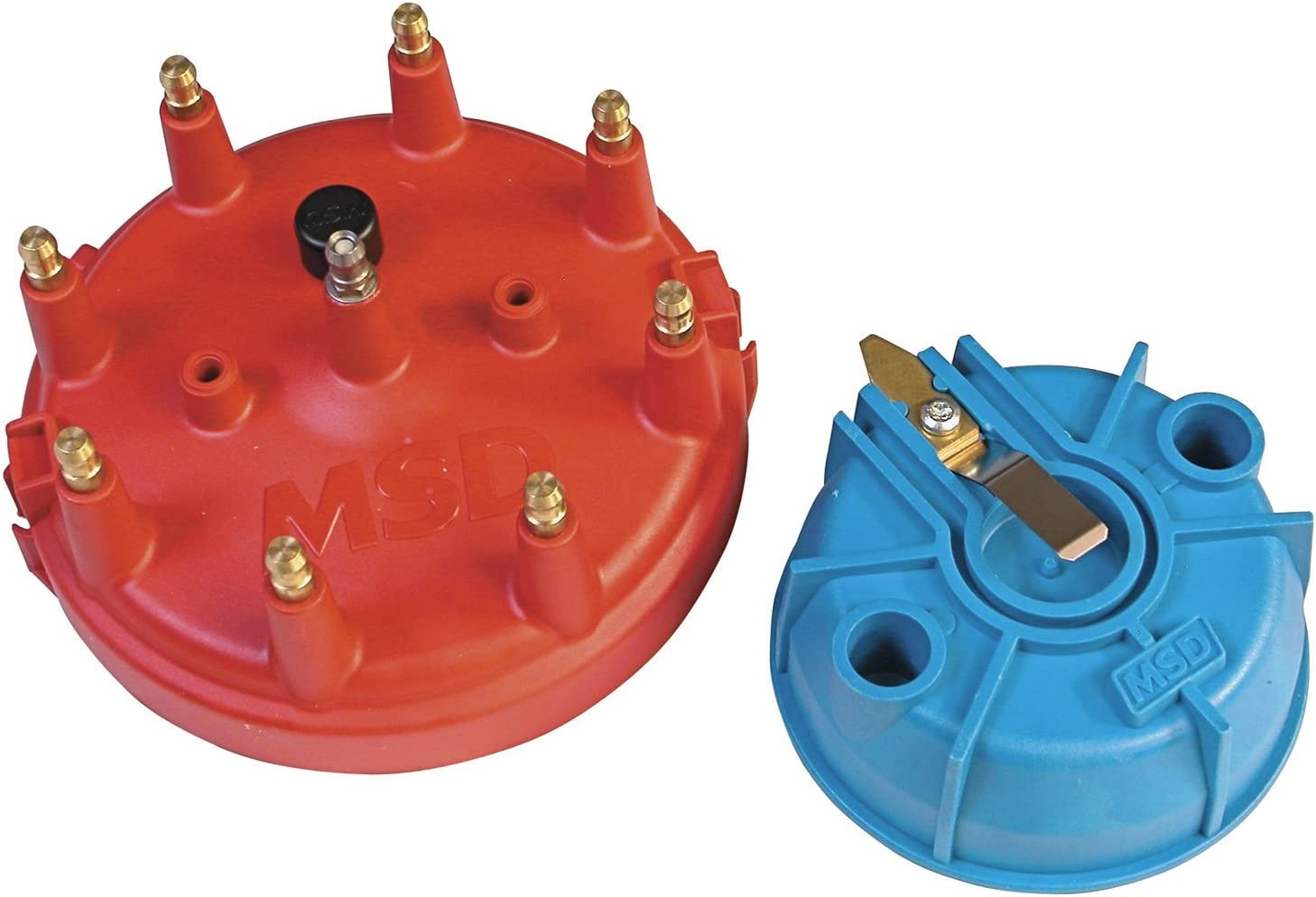 Distributor Cap and Rotor Kit-Chevrolet Eng MSD 8430