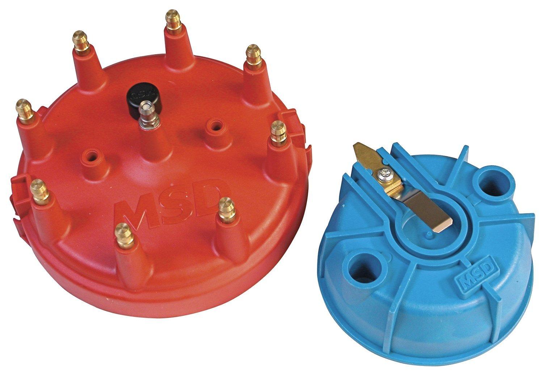MSD 8119 Pro Mag Cap and Rotor Kit